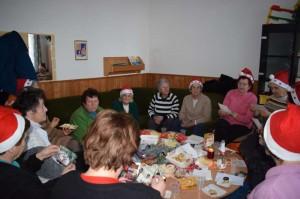 Nyugdíjas klub karácsony